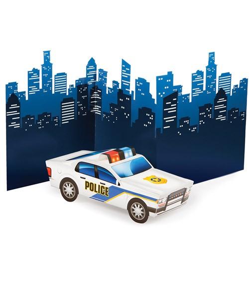 """3D-Aufsteller """"Polizei Party"""""""