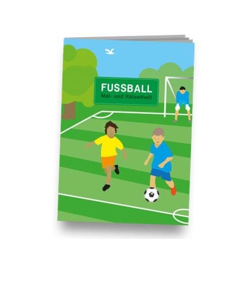 """Kleines Mal- und Rätselheft """"Fußball"""""""