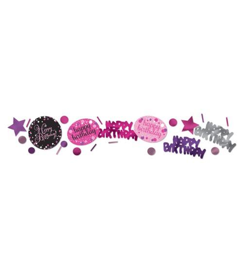 """Konfetti """"Sparkling Pink"""" - Happy Birthday - 34 g"""
