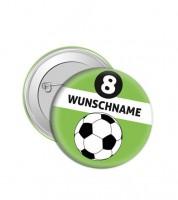 """Dein Button """"Fußball"""" - Wunschtext"""