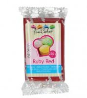 Funcakes Fondant - ruby red - 250 g