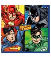 """Servietten """"Justice League"""" - 16 Stück"""