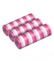 """Papierluftschlangen """"Farbmix Pink"""" - 3 Stück"""