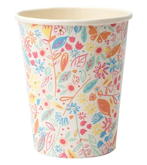 """Pappbecher """"Magical Princess"""" - 8 Stück"""
