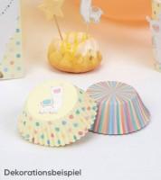 """Cupcake-Förmchen """"Lama Love"""" - 100 Stück"""