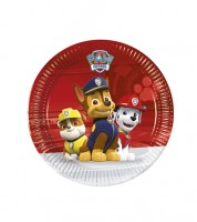 "Kleine Pappteller ""Paw Patrol - Ready for Action"" - 8 Stück"
