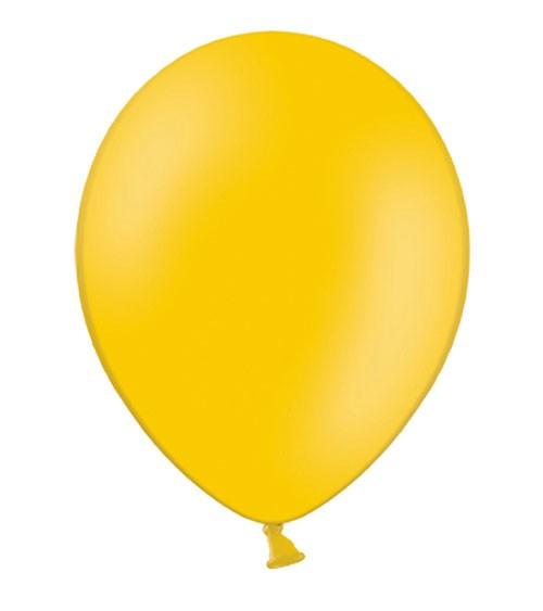 Standard-Luftballons - hellorange - 50 Stück