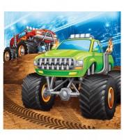 """Servietten """"Monster Truck Show"""" - 16 Stück"""