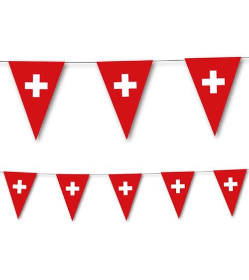 """Wimpelkette """"Schweiz"""" - 3,5 m"""