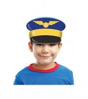 "Stirnband aus Pappe ""Pilot"" - 8 Stück"