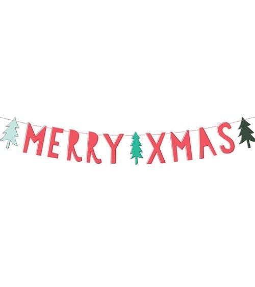 """Merry Xmas""-DIY-Girlande - 1,2 m"