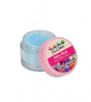 Funcakes Lebensmittelfarbe Pulver - babyblau - 4 g