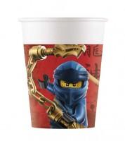 """Pappbecher """"Lego Ninjago"""" - 8 Stück"""