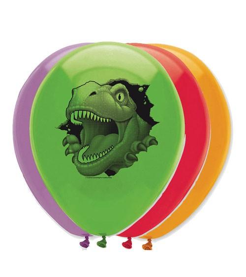 "Luftballon-Set ""Dinosaurier"" - 6 Stück"