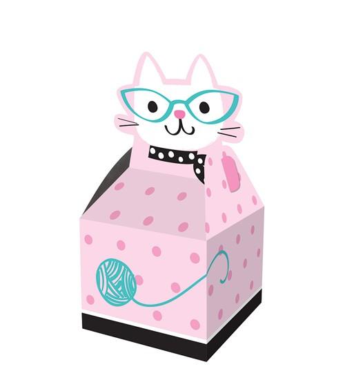 """Geschenkboxen """"Kleine Katzen"""" - 8 Stück"""