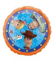 "Runder Folienballon ""Toy Story 4"" - 43 cm"