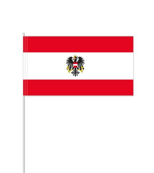 """Papierflaggen """"Österreich"""" - 10 Stück"""