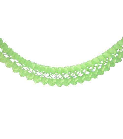 Seidenpapiergirlande - mintgrün - 4 m