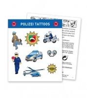 """Tattoos """"Polizei"""" - 1 Bogen"""