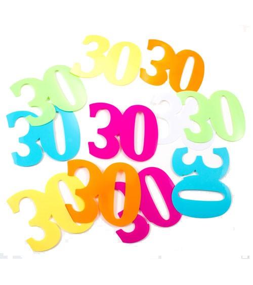 XL-Streudeko 30. Geburtstag - bunt - 14 g