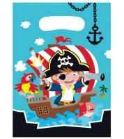 """Partytüten """"Kleiner Pirat"""" - 8 Stück"""