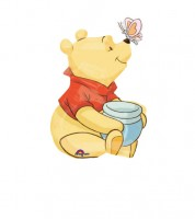 "Minishape-Folienballon ""Winnie Puuh"""