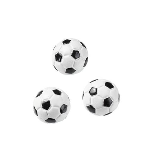 "Streuteile ""Fußball"" - 2D - 2 cm - 3 Stück"