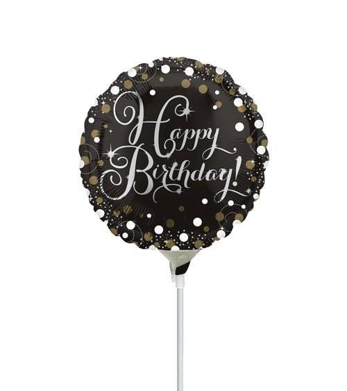 "Mini-Folienballon ""Sparkling Celebration"" - 23 cm"
