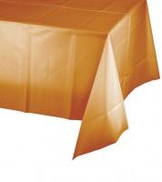Kunststoff-Tischdecke - pumpkin - 137 x 274 cm