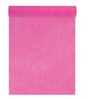 Tischläufer aus Vlies - pink - 30 cm x 10 m