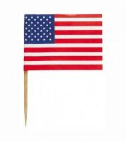"""Picks """"USA"""" - 30 Stück"""
