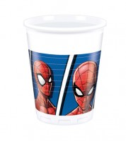 "Plastikbecher ""Spiderman - Team Up"" - 8 Stück"