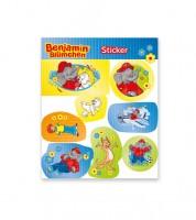 "Sticker ""Benjamin Blümchen"" - 1 Bogen"