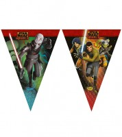 "Wimpelgirlande ""Star Wars Rebels"" - 2,6 m"