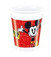 """Plastikbecher """"Mickey Mouse Comic"""" - 8 Stück"""