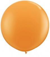 Riesiger Rundballon - orange - 90 cm