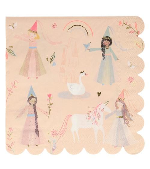 """Servietten """"Magical Princess"""" -16 Stück"""