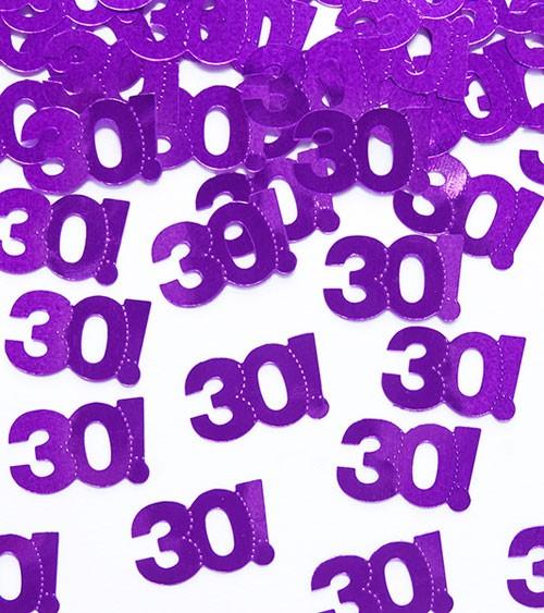 """Geburtstags-Konfetti """"30"""" - 15 g"""