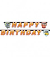 "Happy-Birthday-Girlande ""Cars 3 - Evolution"" - 2 m"