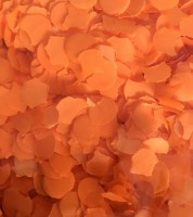 Papierkonfetti - 100 g - orange