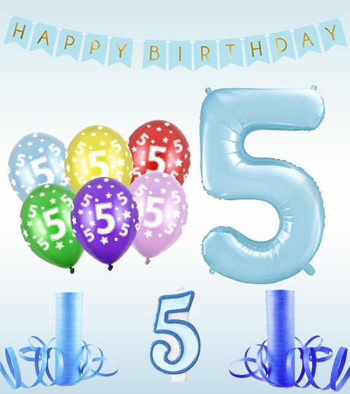 5 Geburtstag Junge