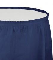 Tischverkleidung - navy blue - 4,26 m