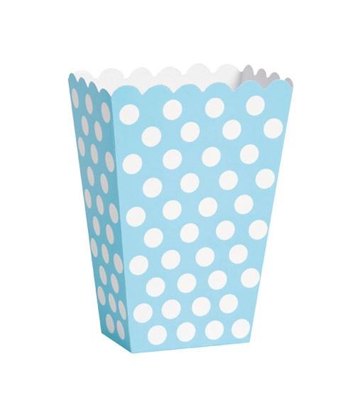 """Süßigkeitenboxen """"Big Dots"""" - Powder Blue - 8 Stück"""