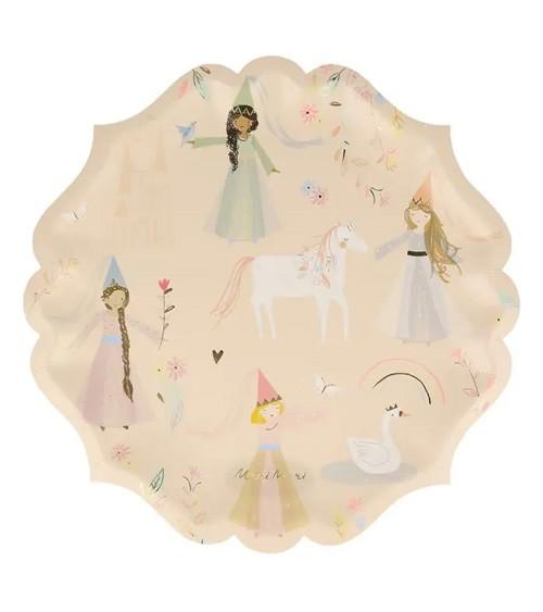 """Pappteller """"Magical Princess"""" - 8 Stück"""