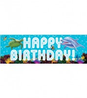 "Großer Partybanner ""Ocean Party"" - 152,4 cm"