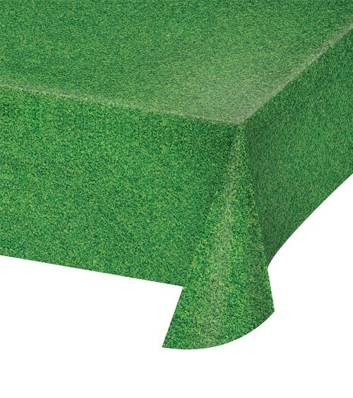 """Kunststoff-Tischdecke """"Rasen"""" - 137 x 274 cm"""