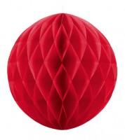 Wabenball - 30 cm - rot