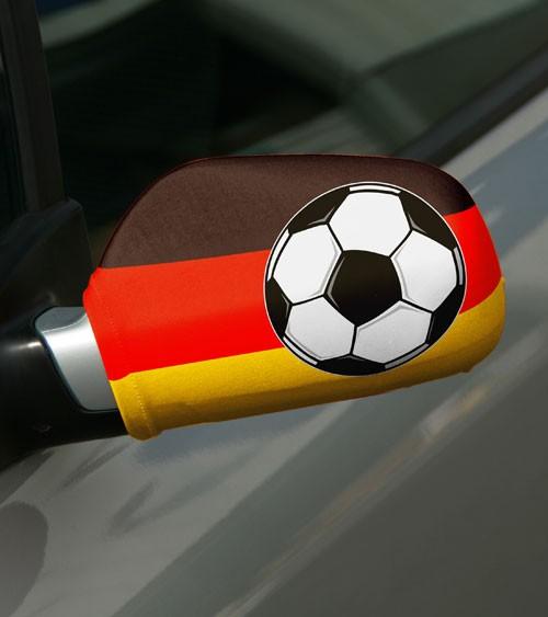 """Autobikini """"Deutschland"""" - schwarz/rot/gold - 2 Stück"""