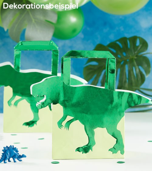 """Papiertüten """"Dinosaurier Party"""" - 5 Stück"""