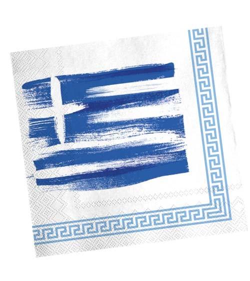 """Servietten """"Griechenland"""" - 20 Stück"""